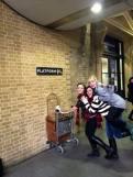 Chords @ Platform 9 3/4! Hey Harry Potter how's it hangin
